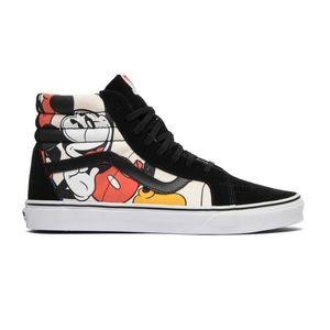 Vans Sk8 Disney Mickey and friends high top shoe-7